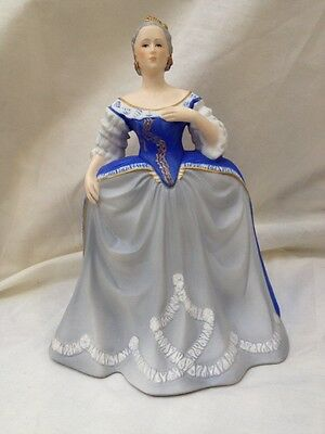 Franklin Mint Porcelain Figurine - Catherine the great - 1983 Limited Edition -
