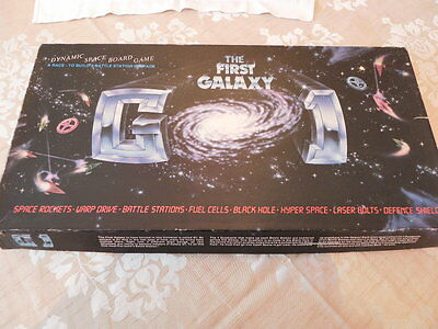 Vintage the first Galaxy Spaceman board game 1983 universe