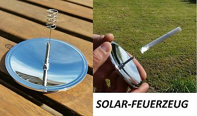 10 x Encendedor SOLAR Outdoor Camping Notfall SOLAR Encendedor Impermeable