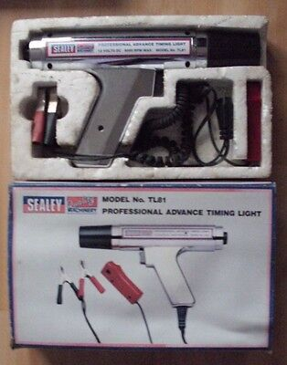 Sealey Tl81 Professional Advance Vehicle Timing Light Complete With Box