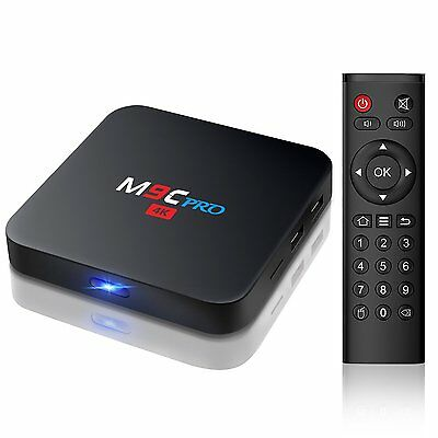 TV BOX Bqeel M9C PRO Amlogic S905X Quad Core Android 6.0 1G/8G 4K WiFi H265 DLNA
