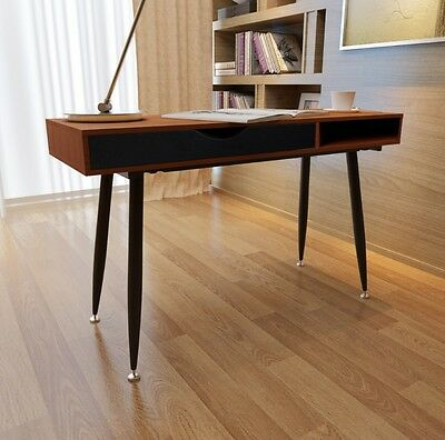 Office Computer Desk Writing Table Drawer Industrial Furniture Large Tabletop