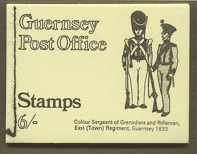 GUERNSEY 1969-70; COMPLETE BOOKLET; SC: 9 # 13a, AND 6 # 14a, 6 # 28a; MNH