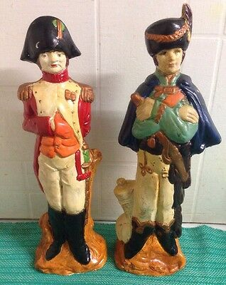 Napoleon Bonaparte & Other Historical Figurines - Possibly Plaster