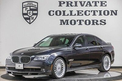 2012 BMW 7-Series Base Sedan 4-Door 2012 BMW ALPINA B7 Low Miles Clean Carfax Well Kept Highly Optioned