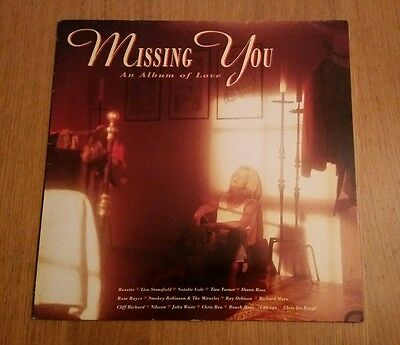 """""""Missing You - An Album Of Love"""" (1990) by Various Artists on vinyl LP"""