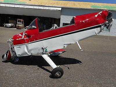2007 Van's Rv-8A, 393 Hours Tt, Damaged, For Parts, Cheap !!