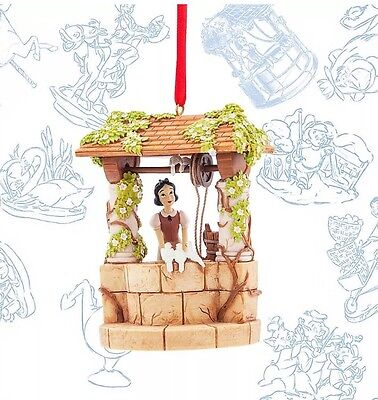 Disney Sketchbook Limited Edition Snow White Xmas Decoration Wishing Well