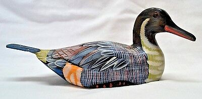Land & Sea Collectibles Decorative Pintail Handpainted Wooden Duck Decoy 10""