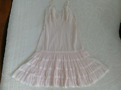 Vintage Full Length Pink Slip by Aristocraft - Size 34