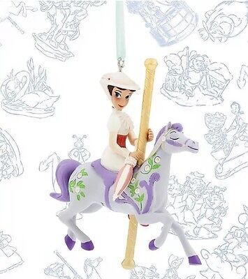 Disney Limited Edition Xmas Mary Poppins Carousel Sketchbook Decoration Ornament