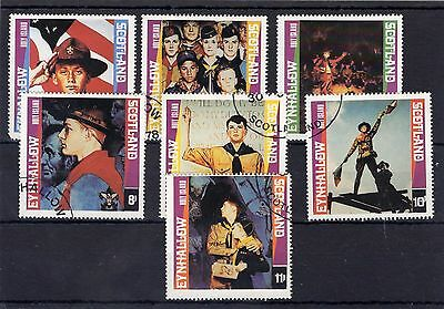 Scouts Stamps Eynhallow Set FU