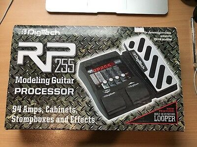DigiTech RP255 Multi-Effects Guitar Pedal