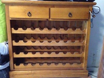 Wine Rack Wooden Shelf -very good condition-