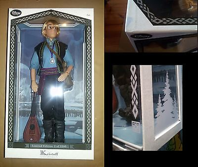 """DISNEY STORE Kristoff limited edition doll Frozen LE 17"""" - Bambola"""