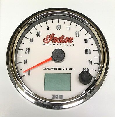 2002-04 Gilroy Indian Chief electronic speedometer