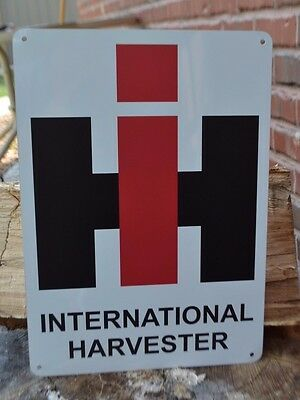 International Harvester Farming Tractor SIGN Agriculture Trucks Advertising Logo