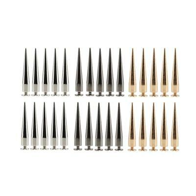 30pcs 7x40mm Screwback Spikes Cone Studs Punk Rock for DIY Leathercraft Accs