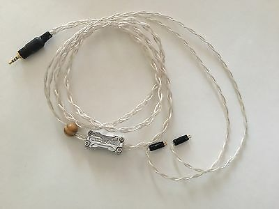 Toxic Cables Silver Widow OCC Cryo Silver Litz wire with 1%+ Gold 2-Pin 2.5mm BA