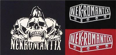 NEKROMANTIX psychobilly punk horror  big back patches-2 design