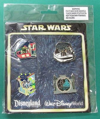 Disney Pin Star Wars in the Parks on Attractions Booster Set  ***NEW***