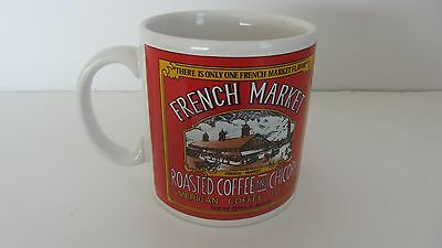 1995 French Market Roasted Coffee And Chicory New Orleans Mug