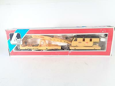 LIMA OO - 305698 BRe Yellow 76T Large Crane - Hornby couplings - EXCL BOXED