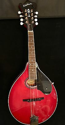 Washburn M1SDL A-Style Mandolin Transparent Red