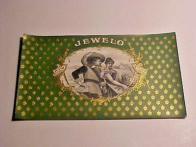 Vintage Cigar Label - Jewelo Inner Label  5 5/8 x 10 1/4 Lot of (2)