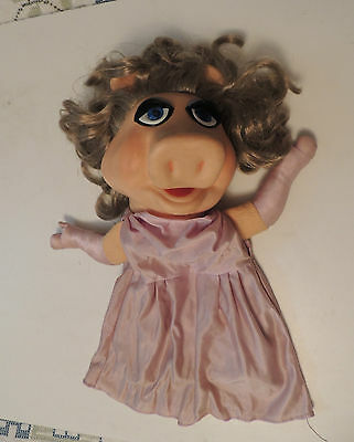 Vintage Muppets Miss Piggy Hand Puppet Fisher Price 1977