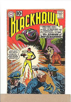 1961 DC Comics BLACKHAWK #165 Silver Age combined shipping