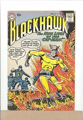 1959 DC Comics BLACKHAWK #141 Silver Age VG/FN Cat-Man combined shipping