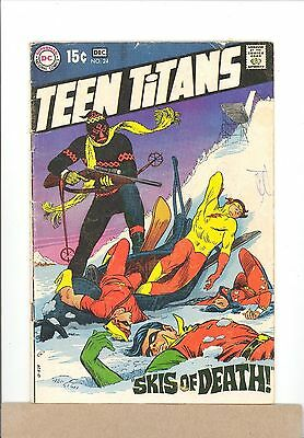 1969 DC Comics TEEN TITANS #24 Robin,Kid Flash,Wonder Girl combined shipping