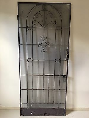 Wrought Iron Entrance Security Door Entry Beautiful Needs New Flywire 2030x865mm