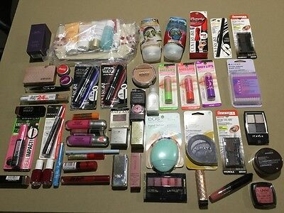Lot of 50 Mixed Makeup Items - Brand New.