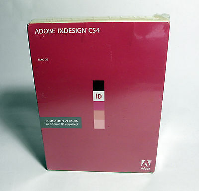 Adobe InDesign CS4 for Macintosh – Academic Version for North America