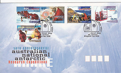 1997 - AAT - ANARE -  First day cover
