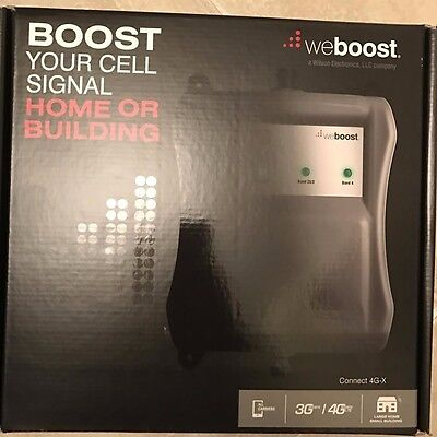 weBoost Connect 4G-X Cell Phone Signal Booster for Home and Office
