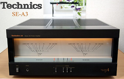 Technics Sterio Power Amplifier Amp SE-A3 SEA3 for Audio Sound Used Excellect++