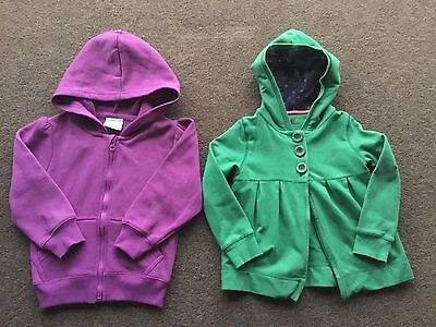 2 x Girls Jackets (one new with tags) - Size 3