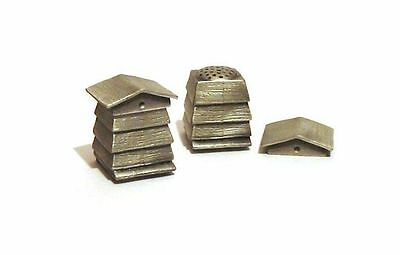 Bee Hive Antiqued Pewter Thimble Made In England NEW Collectible Thimble Gift
