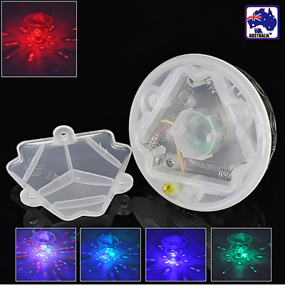2pcs Underwater LED Floating Light for Swimming Pool Xmas Water Lamp HLIG51377x2