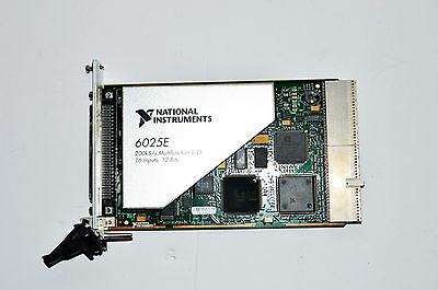 National Instruments NI PXI-6025E Multifunction I/O Module, 333 kS/s, 16 Inputs