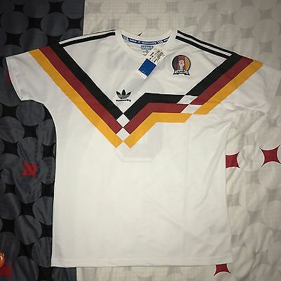 Germany Adidas 1990 Skate Boarding Villemin 8 Football Shirt New Medium Bnwt M