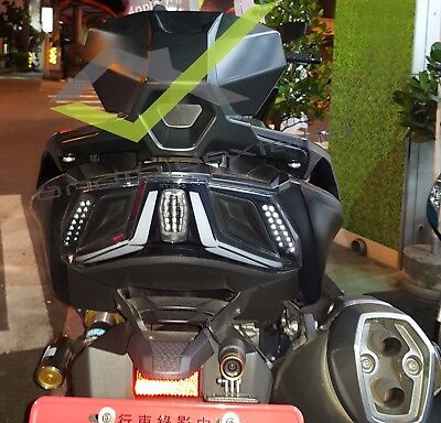 Kymco Ak550 Original Kymco Passenger Backrest