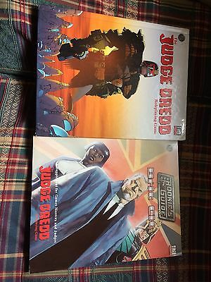 Very Rare - Judge Dredd Roleplaying Game 2 Books