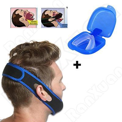 Stop Snoring Mouthpiece Anti Snore Sleep Apnea Bruxism Night Grind Guard Aid NEW