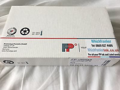 Ultimail GENUINE Red FP Franking Ink Cartridge - PAIR