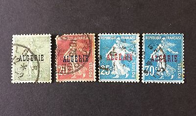 Algeria. Early French 'Sowers' Overprints