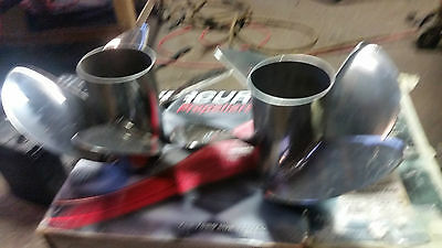 Mercury Mercruiser Revolution 4 19pitch pair propellers Rh and Lh